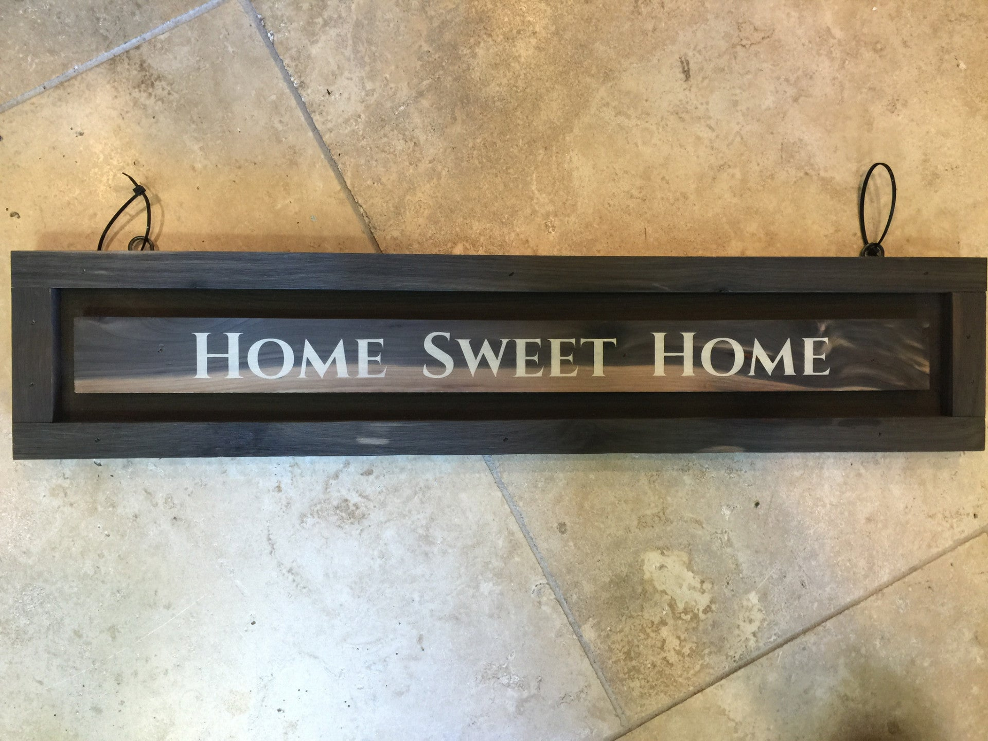 Wooden Home Sweet Home Wall Hanging