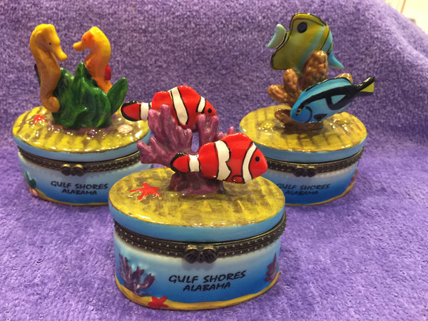 Sea Life Trinket Boxes