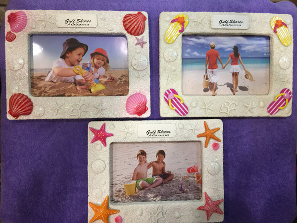 Glitter Sand Picture Frame