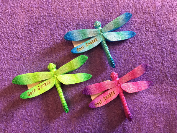 Clay Critters Dragonfly Magnet