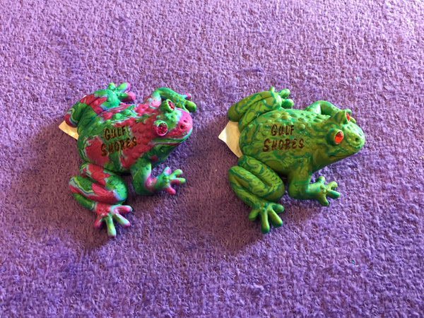 Clay Critters Frog Magnet