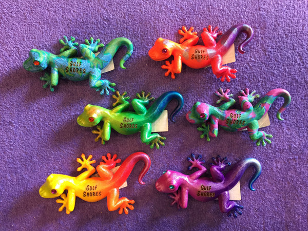 Clay Critters Gecko Magnets