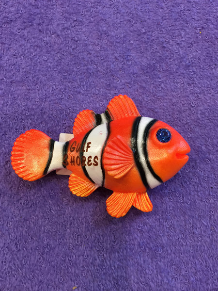 Clay Critters Clownfish Magnet