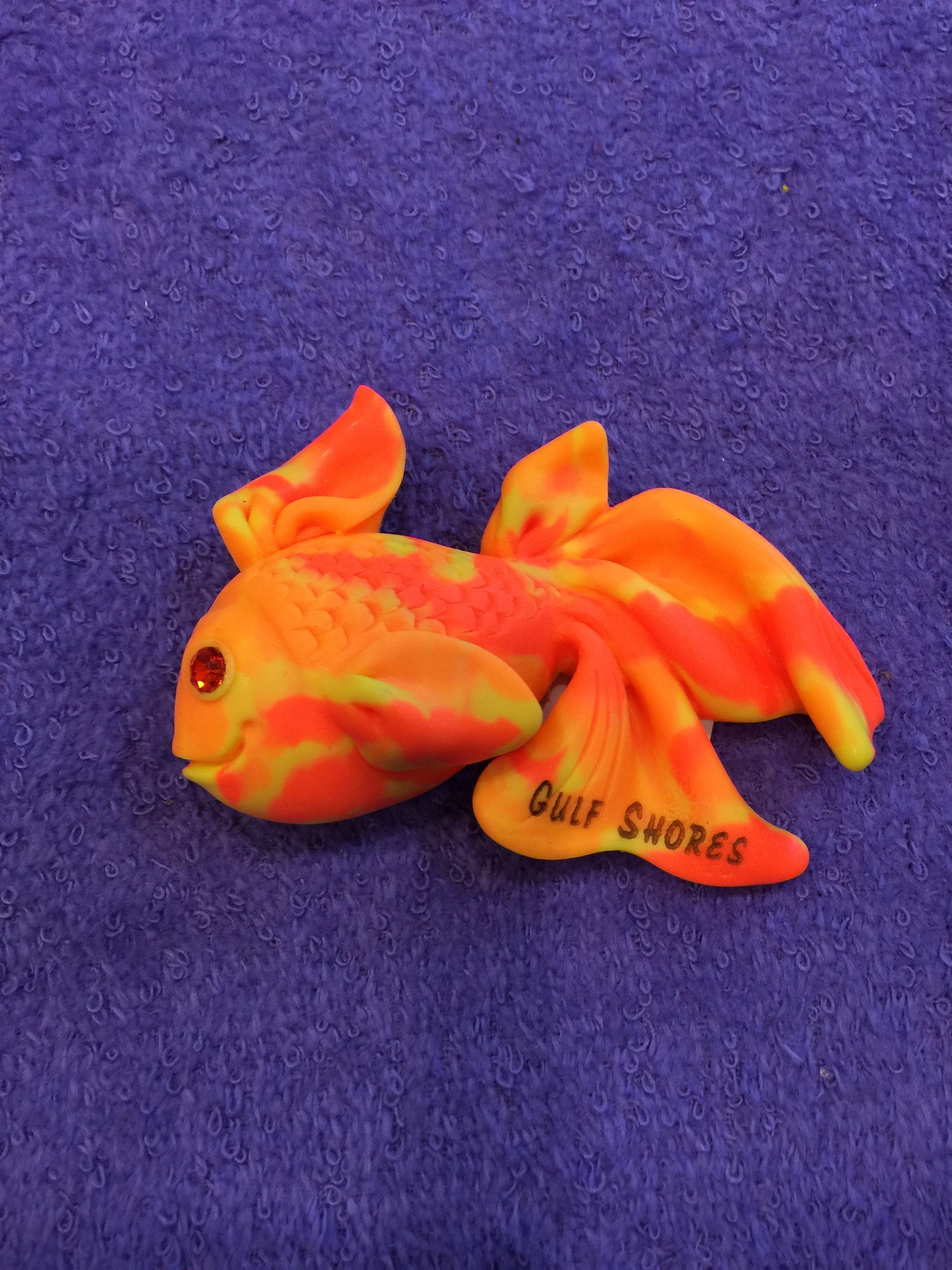 Clay Critters Goldfish Magnet
