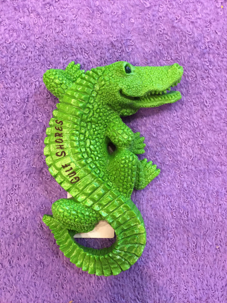 Clay Critters Alligator Magnet