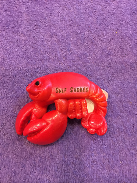Clay Critters Lobster/Crawfish Magnet