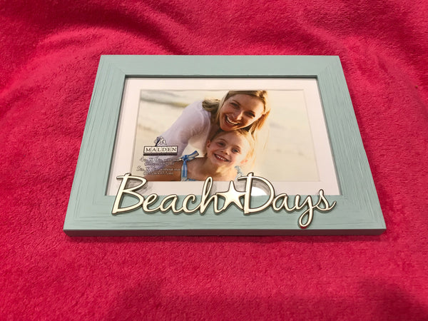 Beach Days Picture Frame