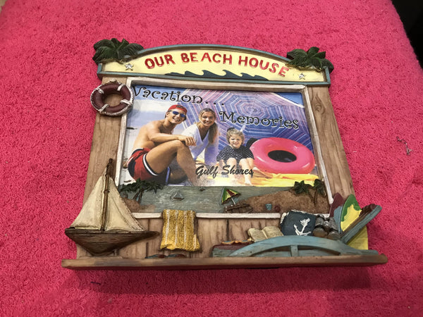 Our Beach House Picture Frame