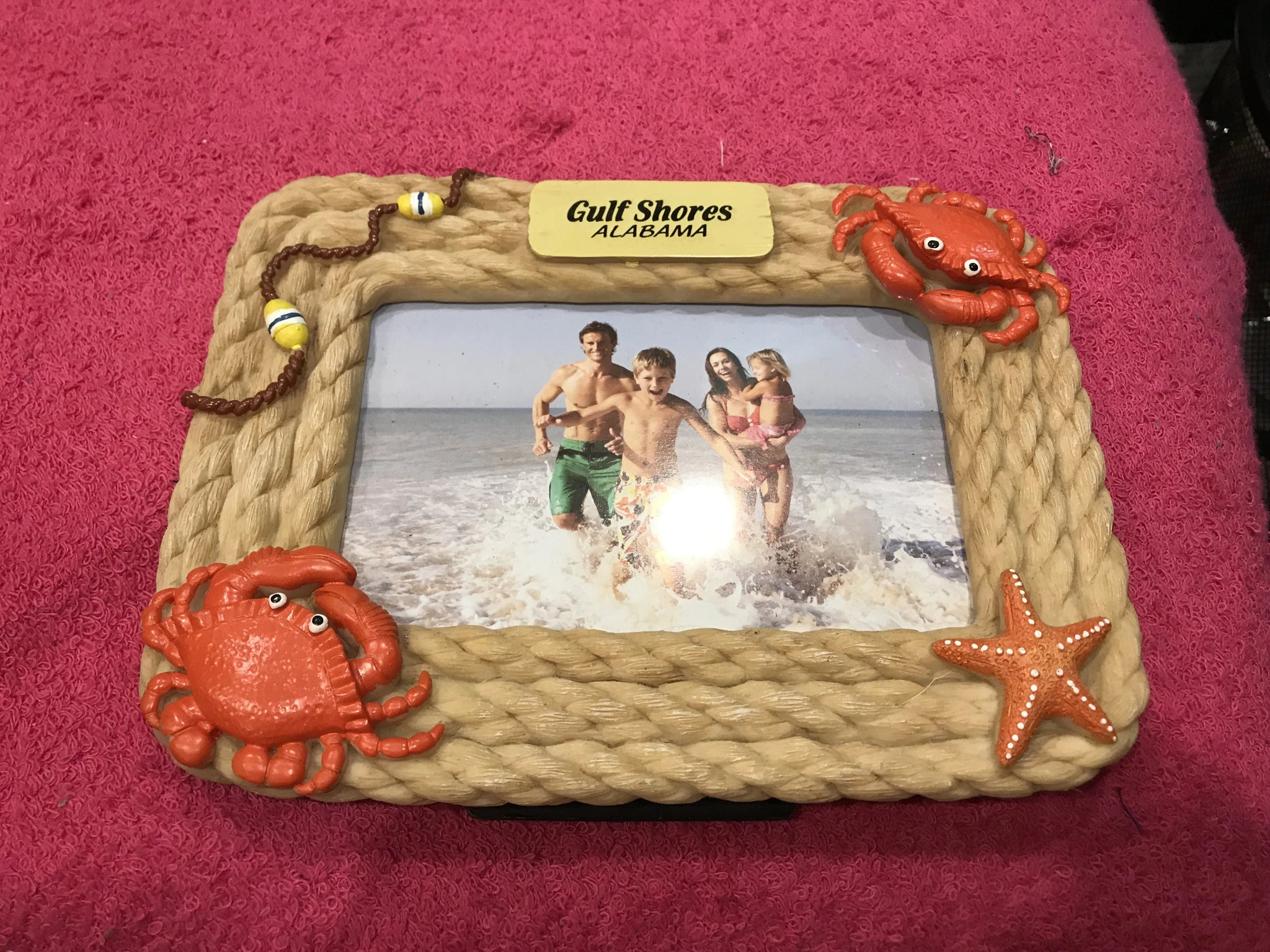 Crab & Starfish Picture Frame