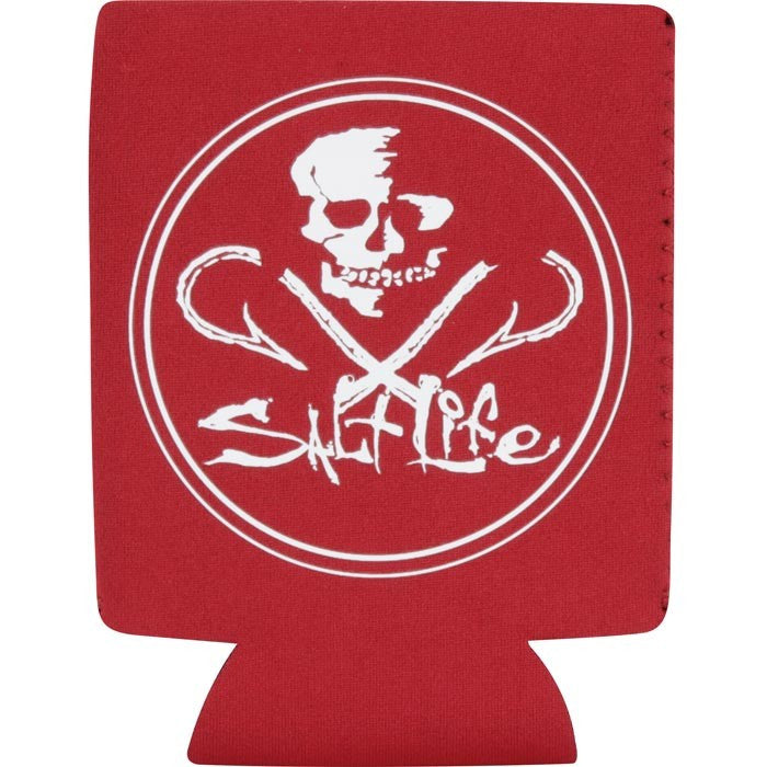 Salt Life- Neon Skull And Hooks Can Holder