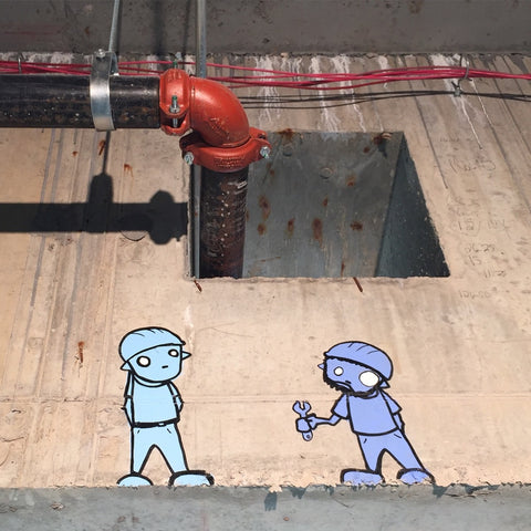 Robots Will Kill Chris RWK Graffiti Street art interview infamy art