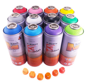 360 Matte 400ml Main Kit 12 Colors
