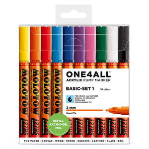 Molotow ONE4ALL 127hs Basic Kit 1 (set of 10)