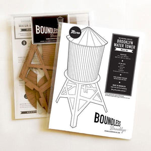 Boundless Brooklyn Water Tower Model Kit - Large