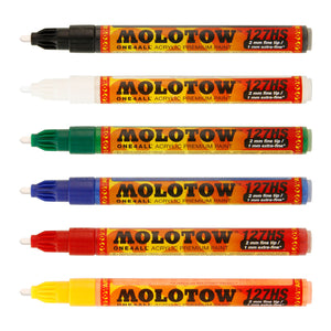 Molotow One4All 127 High Solid Basic Kit 1 (set of 6) - InfamyArt - 2
