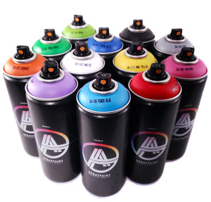 Double A Spraypaint 400ml Main kit 12 Colors