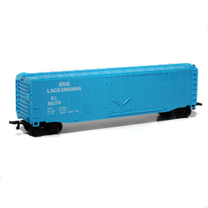 Bachmann HO Scale Erie Lackawanna Box Car with MTN Water Based 8 Marker Set