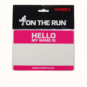 Hello My Name Is Magnet by On The Run