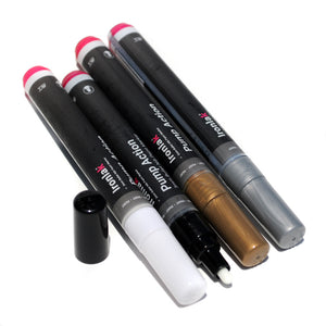 3mm Ironlak Pump Action Water-Based Acrylic Marker Set - Creative Colors