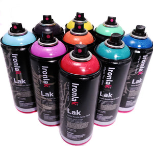 Ironlak 400ml Mystery box set of 9