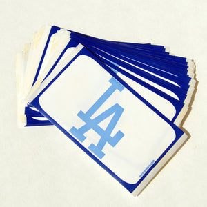 "Egg Shell Sticker ""True Blue Los Angeles""  Blanks Pack - 60pcs"