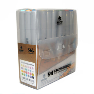 MTN 94 Graphic Marker 24 Pack with Pastel Colors