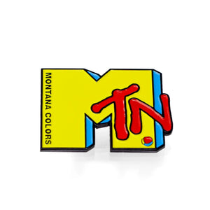 MTN Montana Vision Heavy Hitter Enamel Pin  - Limited Edition
