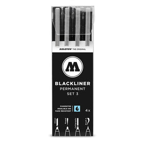 Molotow Blackliner Set 3 - for lettering