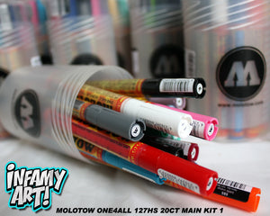 Molotow One4All 127 HS Paint Markers 20 count Main Kit 1 - InfamyArt - 4