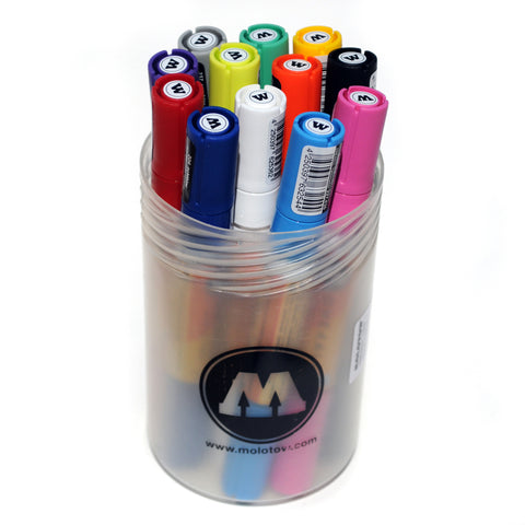 Molotow One4All Acrylic TWIN High Solid Paint Marker Main Kit 1
