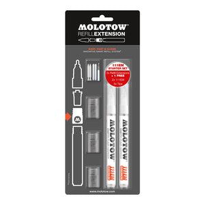 Molotow Refill Extension 111EM empty marker set