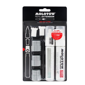 Molotow Refill Extension 611EM empty marker set