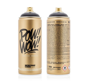 Montana Cans Limited Edition Spray Can - 2017 POW WOW Gold Edition