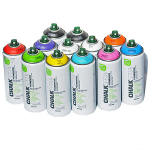 Montana Chalk Spray 400ml Aerosol 12 Pack