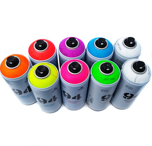 MTN 94 Fluorescent Neon Paint Complete Kit