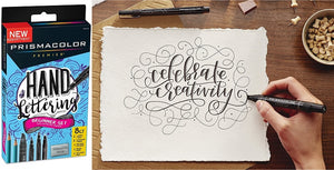 Hand Lettering Beginner Set by Prismacolor