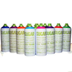 Sugar 400ml 12 Pack - Most Popular Colors - InfamyArt - 1