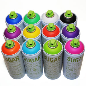 Sugar 400ml 12 Pack - Most Popular Colors - InfamyArt - 2