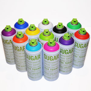 Sugar 400ml 12 Pack - Most Popular Colors - InfamyArt - 3