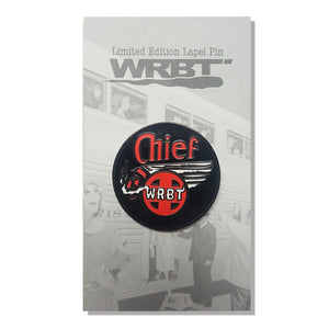 "WRBT ""Smoking Chief"" Enamel Pin"
