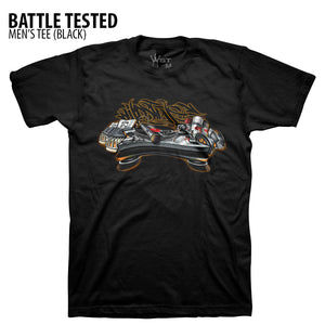 Battle Tested T-Shirt by Wildstyle Technicians