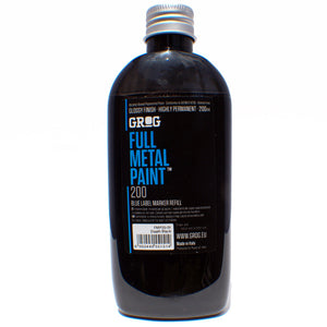 Grog Ink Full Metal Paint refill 200ml - InfamyArt - 1