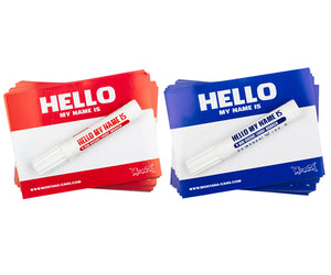Hello My Name Is  - Montana Brand Stickers
