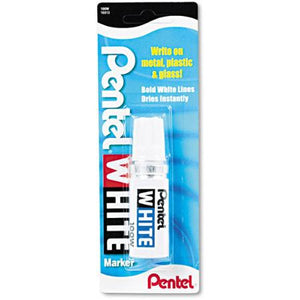 Pentel White 100w Shorty Marker - InfamyArt - 4