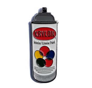 Krylon Traditional Spray Can Enamel Hat Pin