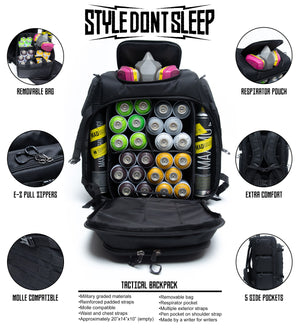 Style Dont Sleep - Mission Bag