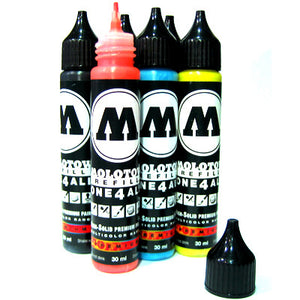 Molotow High Solid One4All 30ml Refill Paint Starter Set of 10 - InfamyArt - 3