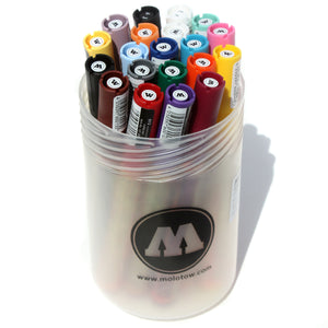 Molotow One4All 127 HS Paint Markers 20 count Main Kit 1