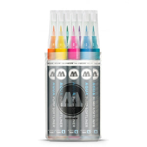 Molotow Grafx Aqua Ink Pump Softliner Main Kit 1