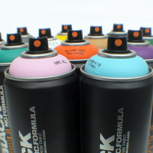 Montana BLACK 400ml Spray Paint 12 Pack - Alternative Colors - InfamyArt - 4